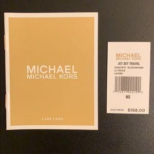 Michael Kors Bags - NEW Micheal Kors Jet Set Travel Trifold Wallet
